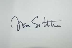 Lisa Scottoline Autograph