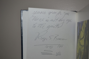 2nd page of autograph