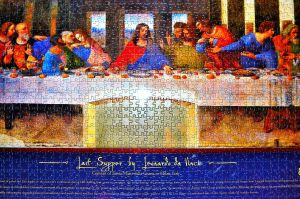 The Last Supper, 3000 pieces