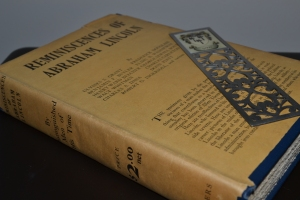 Abraham Lincoln Old Book