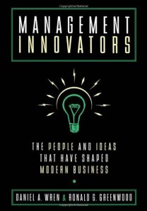 Management Innovators Book Cover Image