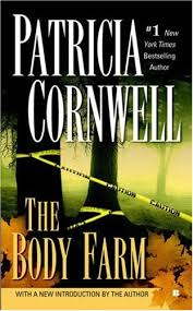P Cornwell book cover 1