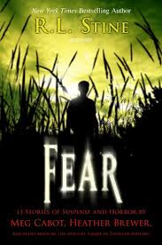 RL Stine Fear Cover