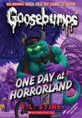 Rl Stine Horrorland cover