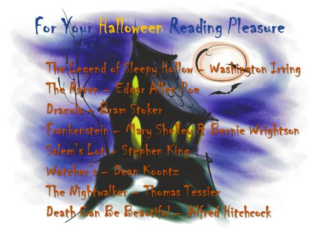 Halloween Book B&O 9-10-2014