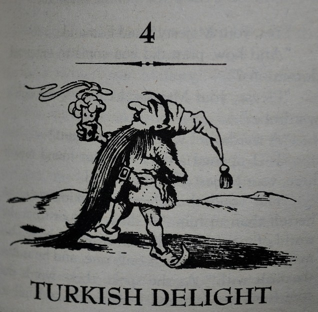 Nothing like a bit of Turkish Delight to get Edmund tangled up with the White Witch!