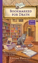 http://lornabarrett.com/bookmarked-for-death/