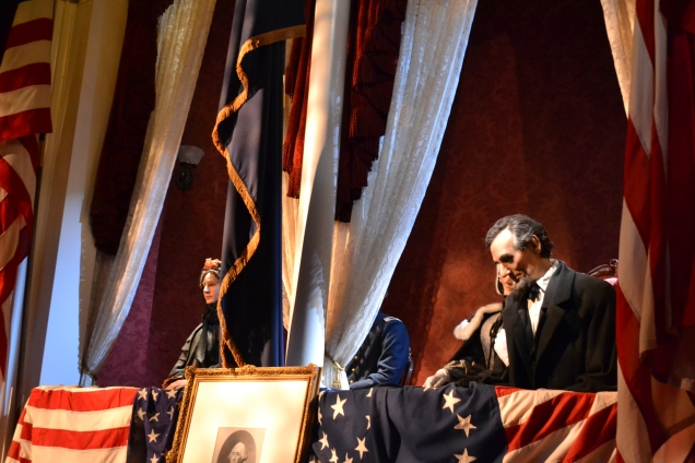 President and Mrs. Lincoln; Henry Rathbone and Clara Harris were their guests.