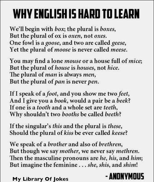 Why English is Hard to Learn image