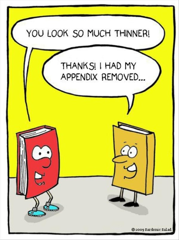 Appendix Removed Book Image