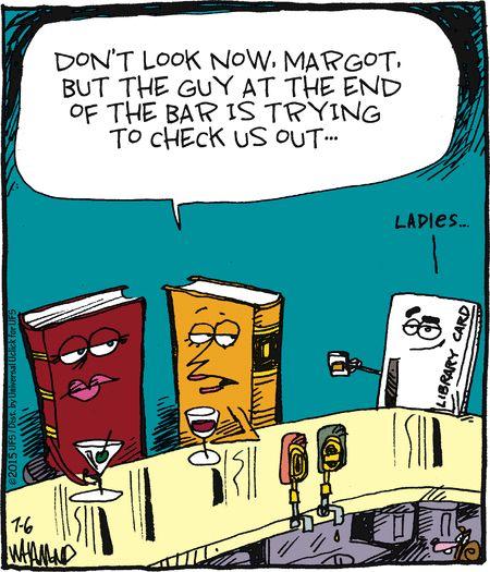 Books in Bar