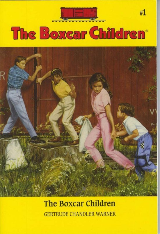 The Boxcar Children Cover Image